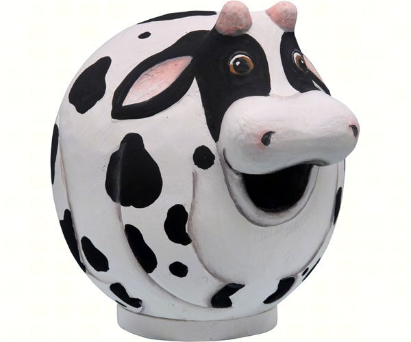Birdhouse-Cow-Gord-O-Wildlife Friends