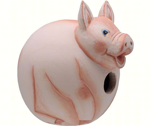 Birdhouse-Pig-Gord-O-Wildlife Friends-Country Life