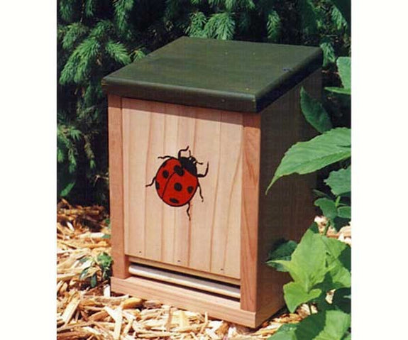 Ladybug House-Protect Garden Friends