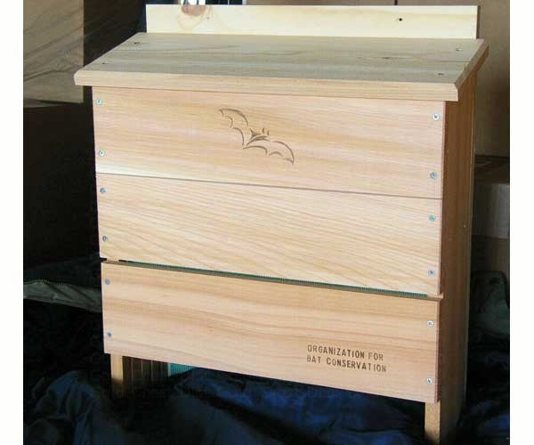 Bat House-Holds 600 Bats-Cedar-Weather Resistant