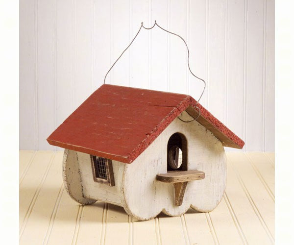 Birdhouse-Canadian White-Wood-Vented-Wildlife Friends