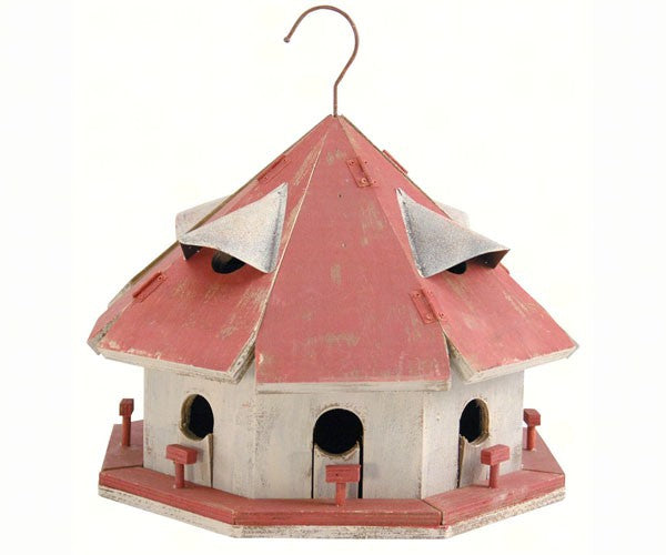 Birdhouse-Red Roof Motel-Wildlife Friends