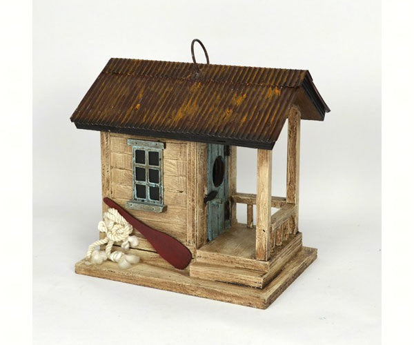 Birdhouse-Boat Shack-Nature Lover