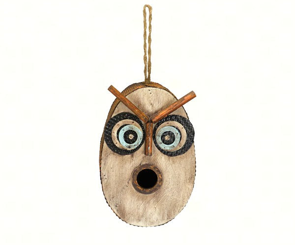 Birdhouse-Retro Owl-Wildlife Friends
