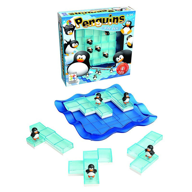 Penguins on Ice Puzzle for Ages 6-14 - Seasonal Expressions