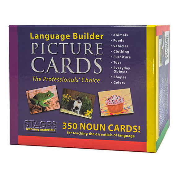 Educational-Language Arts-Special Needs-Language Builder-Picture Nouns