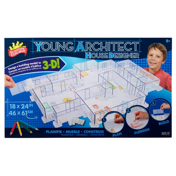 Design and Build-Young Architect House Designer-Creative Children