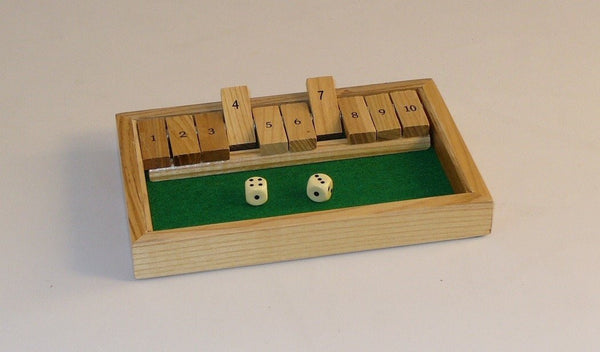 Shut the Box-2-4 Players-Family Game
