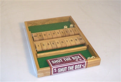 Shut the Box-Double-Family Game for 2