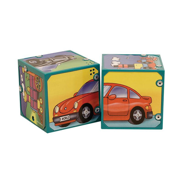 Early Learning-Magic Sound Blocks-Vehicles