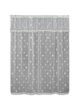 Shower Curtain Set-Sand Shell-Heritage Lace