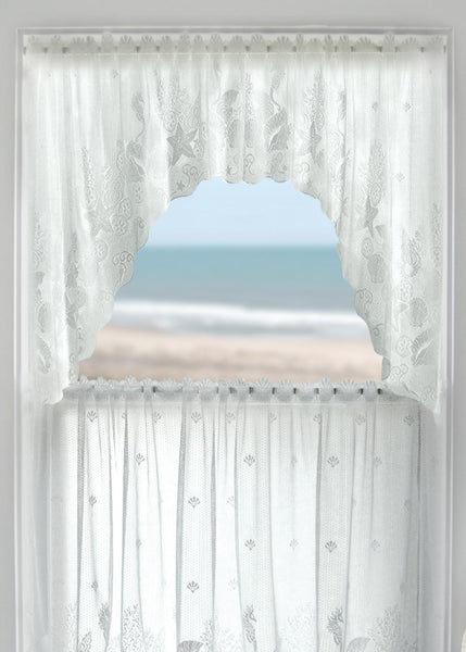 Curtains-Swag-Pair-72 x 36-Heritage Lace-Seascape
