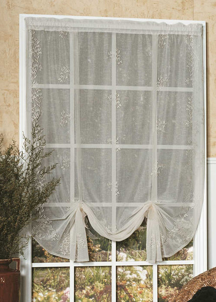 Curtain-Drape Shade-Heritage Lace-Sheer Design