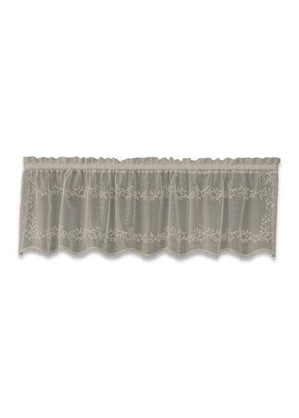 Curtain-Valance-Sheer Divine-Heritage Lace