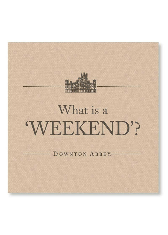 Downton Abbey-Weekend-Simply Stated-Wall Art