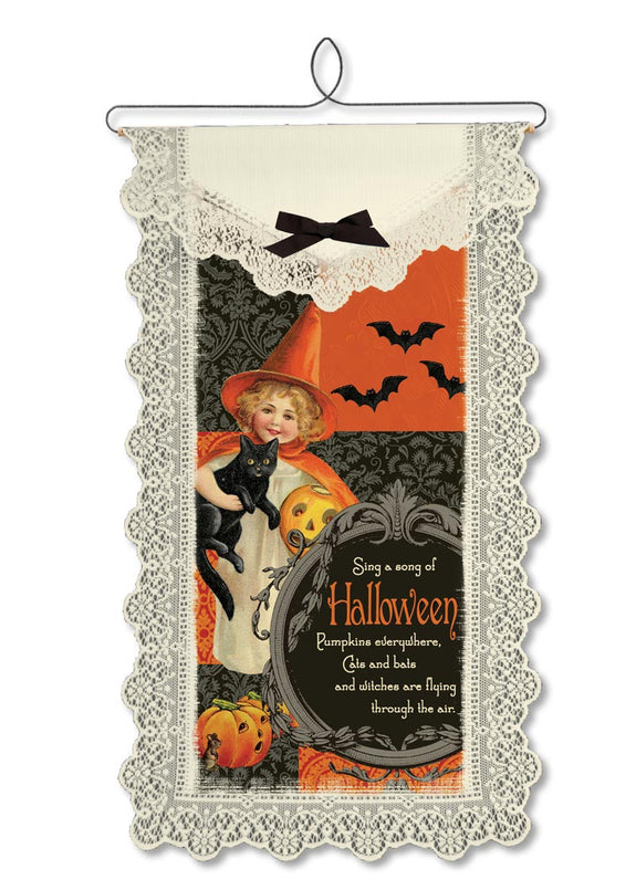 Halloween-Wallhanging-Seasonal Decor-Song of Halloween