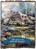 Christian Decor-Choice-Tapestry-Wall Hanging-Throw-Psalm 27:1
