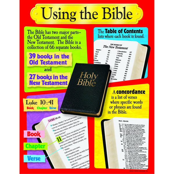 Using The Bible Learning Chart - Seasonal Expressions