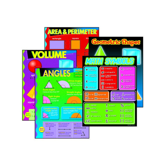 Educational-Math-Bulletin Board Set-Geometry