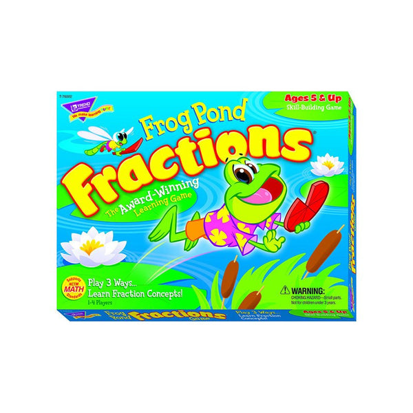 Math Fun-Educational-Frog Pond-Fractions Game-Ages 5+