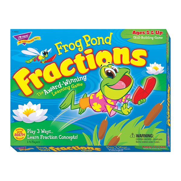 Math Fun-Educational Game-Frog Pond Fractions-Age 5 Plus