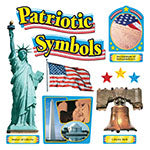 Educational-Social Studies-Bulletin Board Chart-Patriotic Symbols