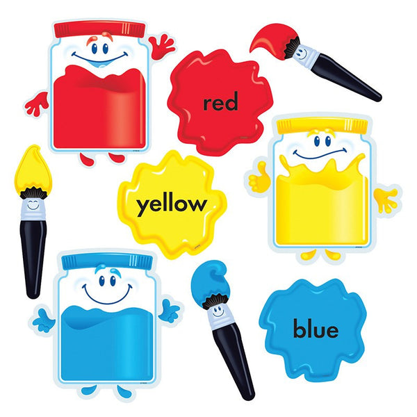 Educational-Early Learning-Colortime Paint- Bulletin Board Set