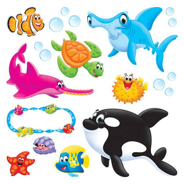 Educational-Early Learning-Sea Buddies-Bulletin Board Set