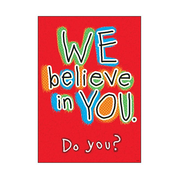 Motivational-We Believe in You-Bulletin Board Chart-Babies and Children