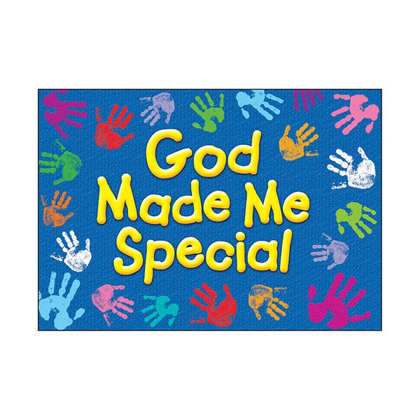 Christian Chart-God Made Me Special-Inspirational-Poster