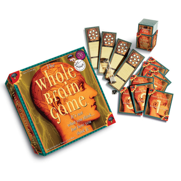 Family Game-The Whole Brain Game-Ages 11 Plus