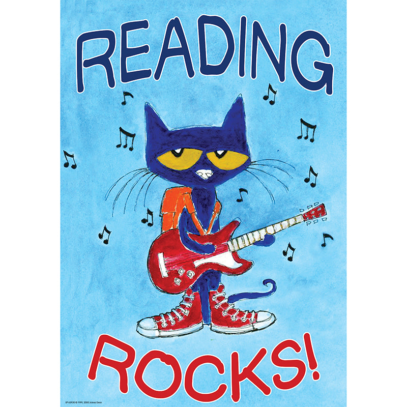 Motivational Chart-Reading Rocks-Pete the Cat