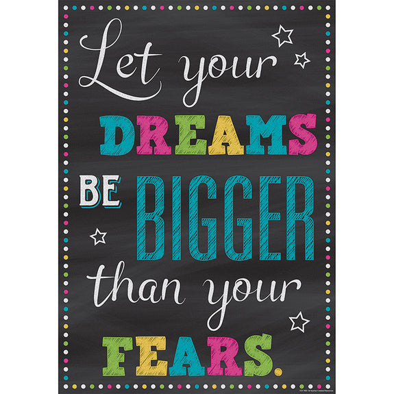 Encouragement-Charts and Posters-Motivational-Let Your Dreams