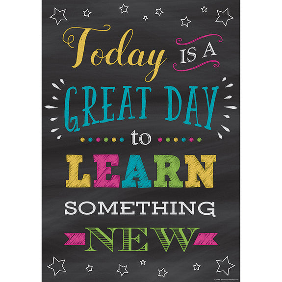 Motivational-Great Day to Learn-Bulletin Board Chart