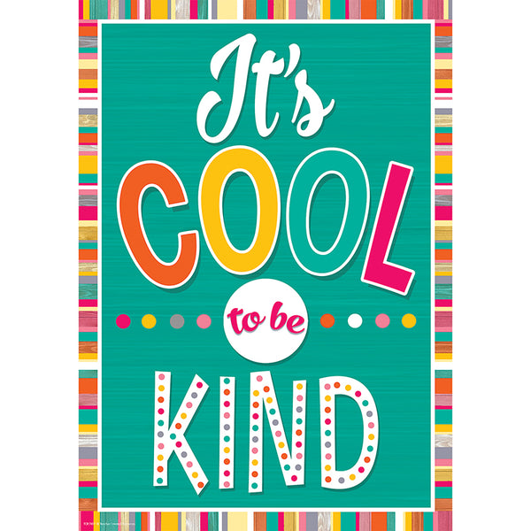 Bulletin Board Chart-Character Building-It's Cool to Be Kind