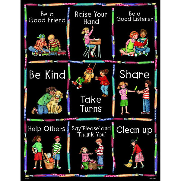 Manners Learning Chart - Seasonal Expressions