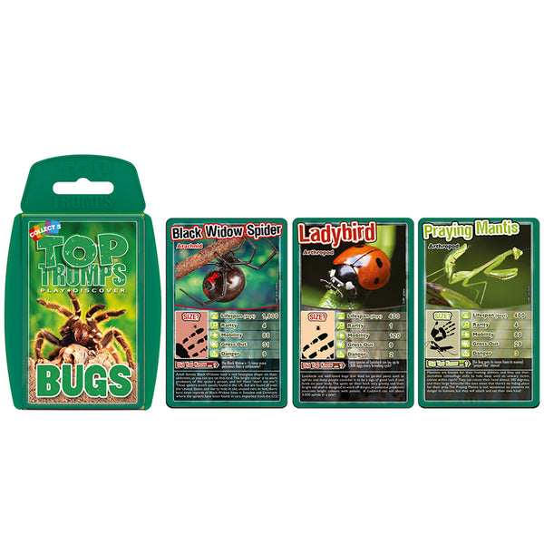 Science Fun-Educational Card Game-Bugs Top Trumps