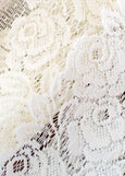 Table Linen-Mantle Scarf-20x90-Heritage Lace-Tea Rose