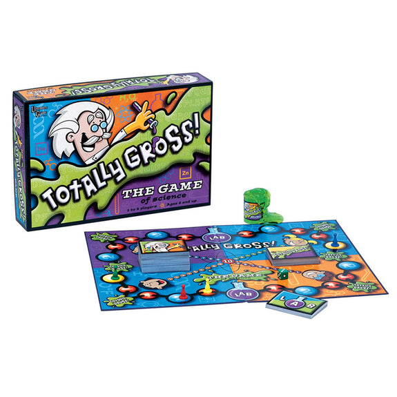 Educational Board Game-Science-Totally Gross-Ages 8 Plus