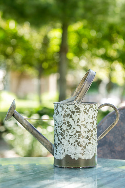 Watering Can-Green Thumb-Heritage Lace-Vintage Garden