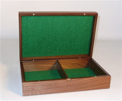 Chess Supplies-Box-12 inch-Walnut Veneer