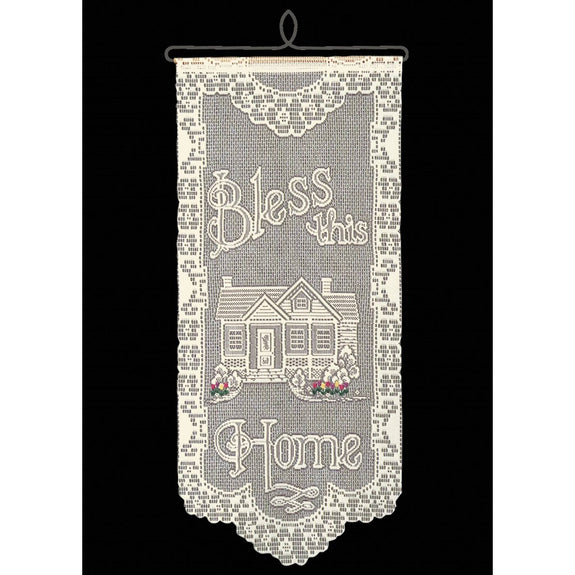 Bless This Home with Tulips Wall Hanging from Heritage Lace - Seasonal Expressions