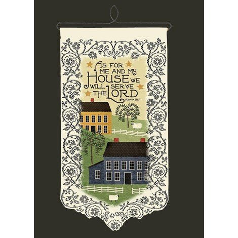 Me and My House Wall Hanging from Heritage Lace - Seasonal Expressions