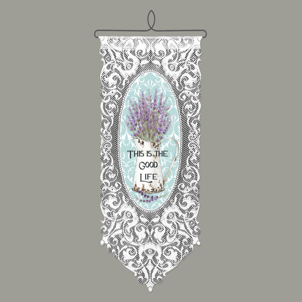 Wall Hanging-Cozy Home-Floral-Heritage Lace-The Good Life