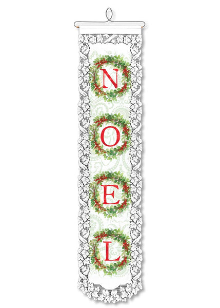 Wall Hanging-Seasonal-Christmas-Noel-Heritage Lace