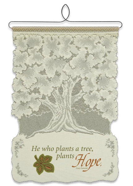 Wall Hanging-Plant Hope-Heritage Lace