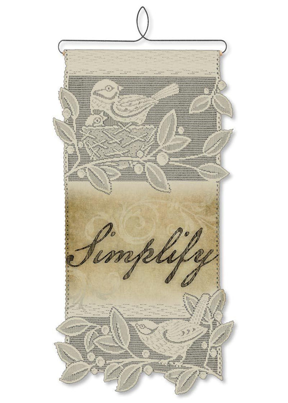 Simplify-Wall Hanging-Heritage Lace