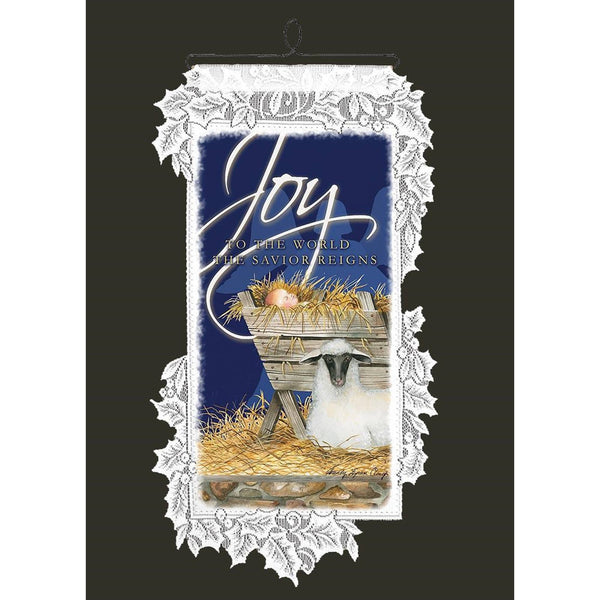 Nativity Joy Wall Hanging from Heritage Lace - Seasonal Expressions