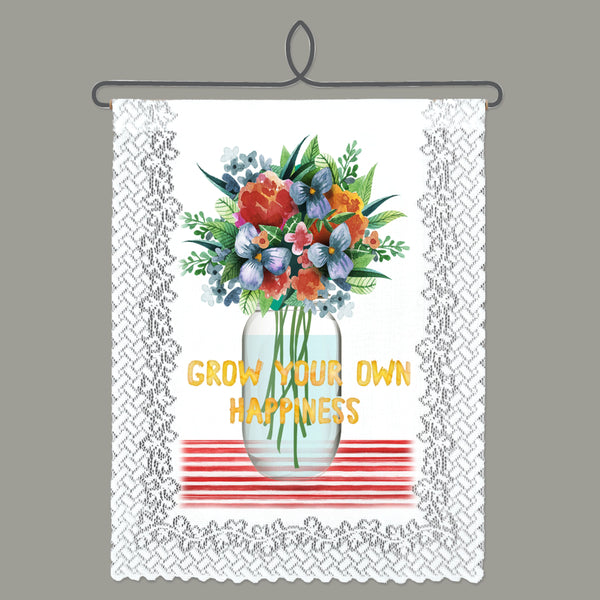 Wall Hanging-Cozy Home-Heritage Lace-Grow Happiness