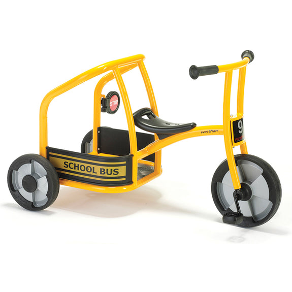 Fitness Fun-Active Children-Wheels-Circeline-School Bus-Tricycle-Imaginative Play